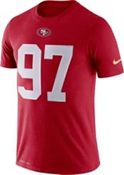 Nike Men's San Francisco 49ers Nick Bosa #97 Logo Red T-Shirt product image