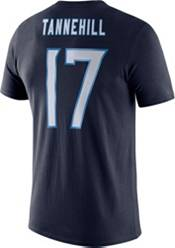 Nike Men's Tennessee Titans Ryan Tannehill #17 Logo Navy T-Shirt product image