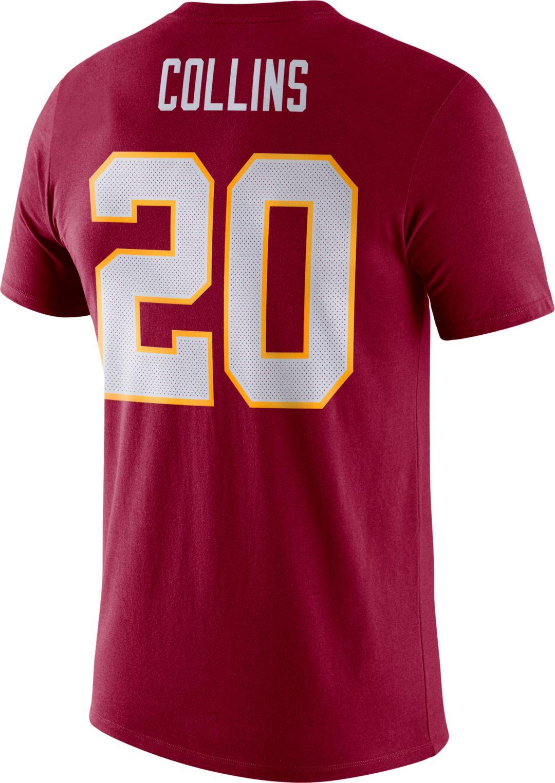 release date: 9adb5 8c86b Nike Men's Washington Redskins Landon Collins #20 Logo Red T-Shirt