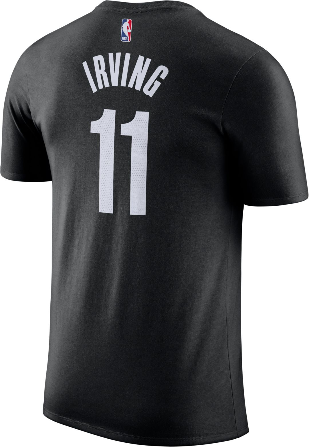 reputable site 40c26 a6c0a Nike Men's Brooklyn Nets Kyrie Irving #11 Dri-FIT Black T-Shirt
