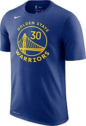 Nike Men's Golden State Warriors Stephen Curry #30 Dri-FIT Royal T-Shirt product image