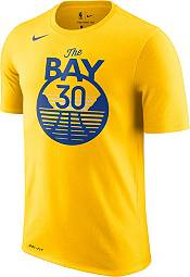 Nike Men's Golden State Warriors Stephen Curry #30 Dri-FIT Statement Gold T-Shirt product image