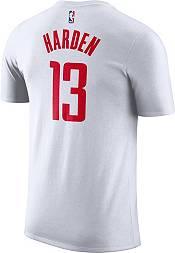 Nike Men's Houston Rockets James Harden #13 Dri-FIT White T-Shirt product image
