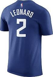 Nike Men's Los Angeles Clippers Kawhi Leonard #2 Dri-FIT Royal T-Shirt product image