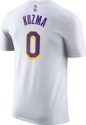 Nike Men's Los Angeles Lakers Kyle Kuzma #0 Dri-FIT White T-Shirt product image