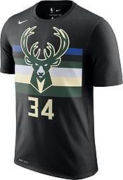 Nike Men's Milwaukee Bucks Giannis Antetokounmpo #34 Dri-FIT Black Statement T-Shirt product image