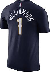 Nike Men's New Orleans Pelicans Zion Williamson #1 Dri-FIT Navy T-Shirt product image