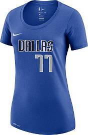 Nike Women's Dallas Mavericks Luka Doncic #77 Dri-FIT Blue T-Shirt product image