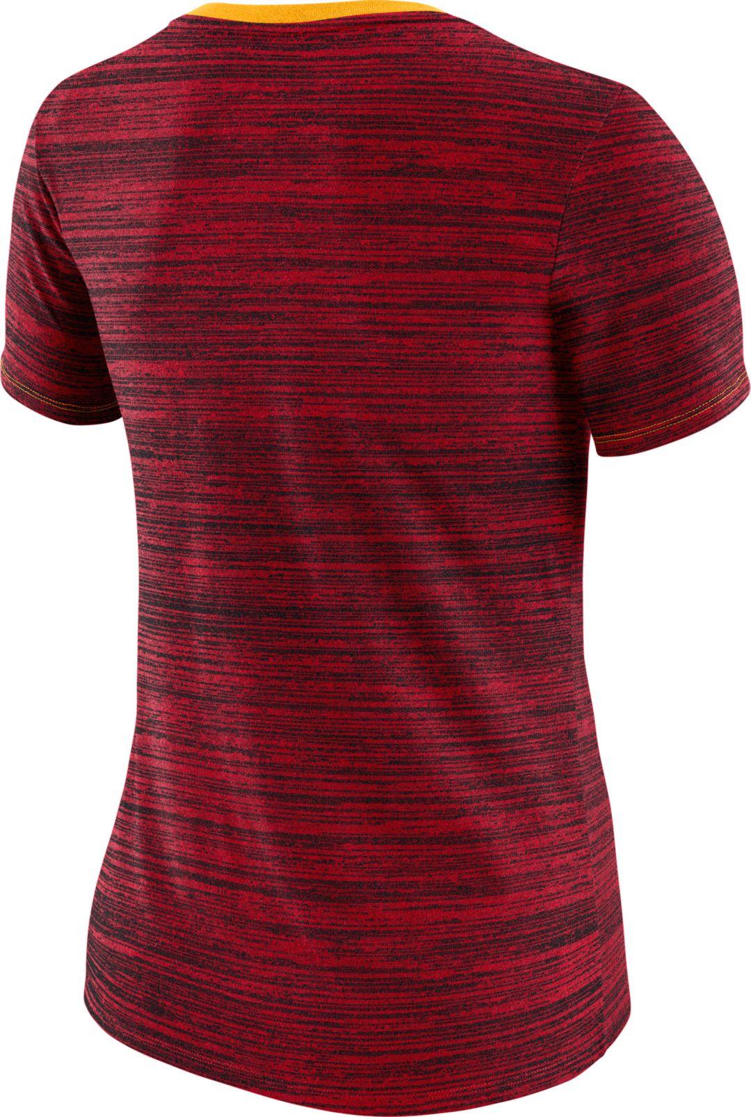 cheap for discount 7d638 91671 Nike Women's Kansas City Chiefs Legend Velocity Performance Red T-Shirt