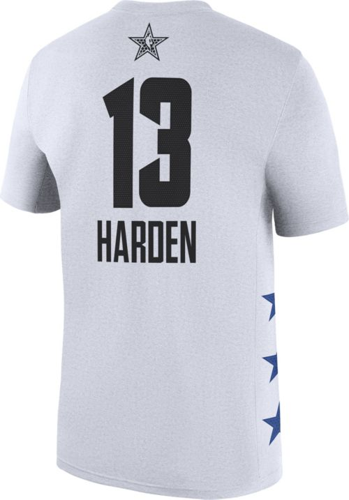 d1492ab9f Jordan Men's 2019 NBA All-Star Game James Harden Dri-FIT White T ...