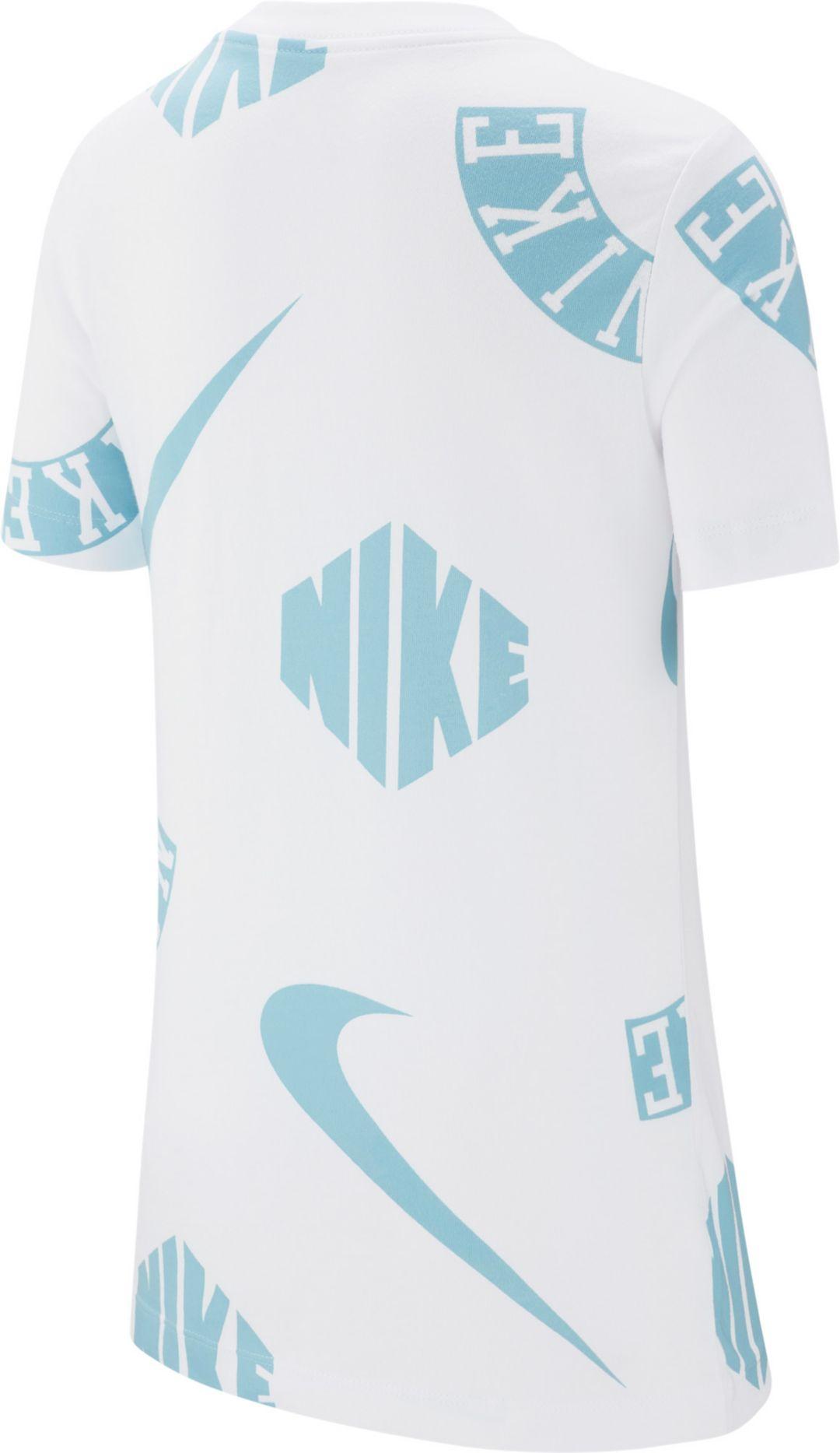 ec91cccb8c Nike Boys' Sportswear Allover Print Collage Graphic Tee | DICK'S ...