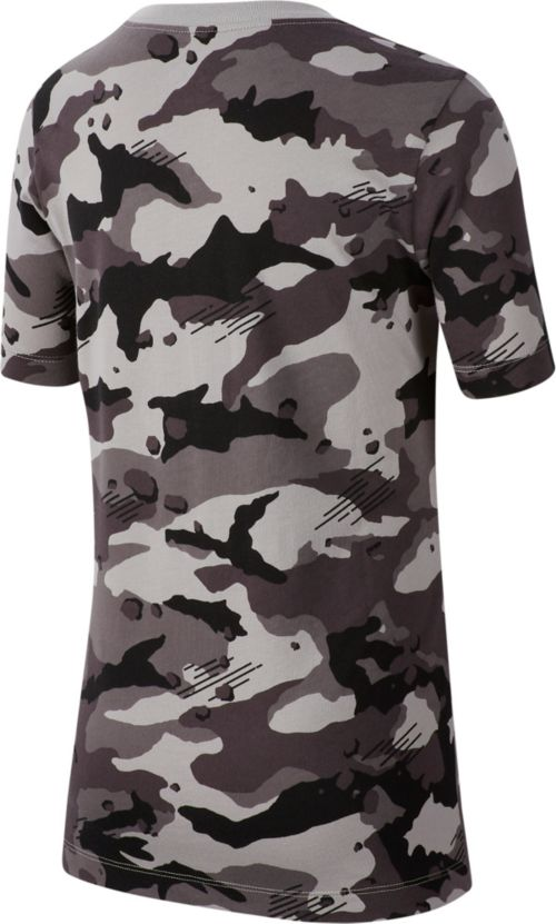 7eff13c2 Nike Boys' Sportswear Camo Allover Print Graphic Tee. noImageFound.  Previous. 1. 2