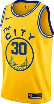 Nike Men's Golden State Warriors Stephen Curry #30 Hardwood Classic Dri-FIT Swingman Jersey product image
