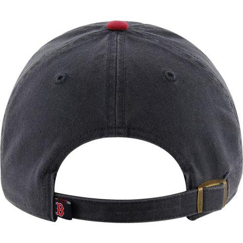 829ec505ca798 47 Men s Boston Red Sox Navy Clean Up Adjustable Hat