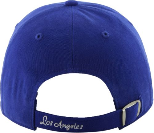 e159a25d041 47 Women s Los Angeles Dodgers Sparkle Royal Adjustable Hat