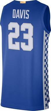 Nike Men's Anthony Davis Kentucky Wildcats #23 Blue Limited Basketball Jersey product image