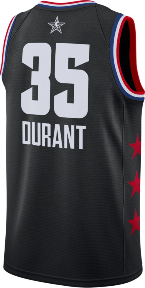 177ab89dbae Jordan Men s 2019 NBA All-Star Game Kevin Durant Black Dri-FIT ...