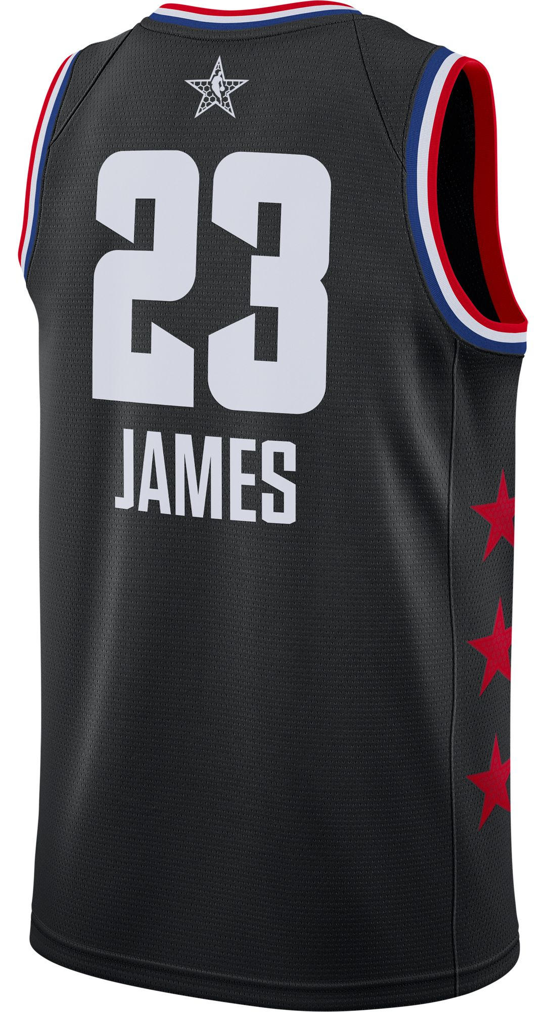 6cfcf08da31 Jordan Men s 2019 NBA All-Star Game LeBron James Black Dri-FIT Swingman  Jersey