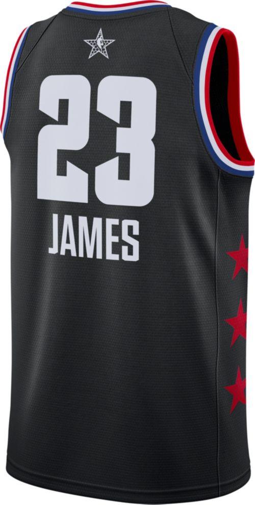 ee61d6ae335 Jordan Men s 2019 NBA All-Star Game LeBron James Black Dri-FIT Swingman  Jersey. noImageFound. Previous. 1. 2. 3