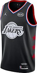 3c953357e8a Jordan Men s 2019 NBA All-Star Game LeBron James Black Dri-FIT Swingman  Jersey