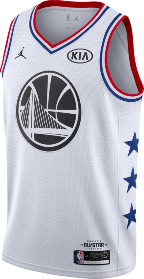 d170c5b61 Jordan Men s 2019 NBA All-Star Game Steph Curry White Dri-FIT Swingman  Jersey