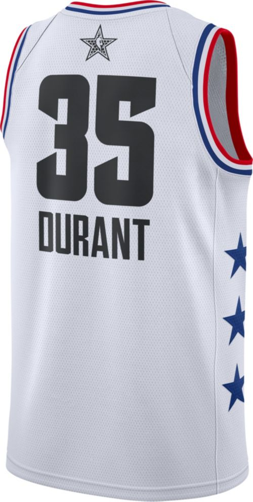 735adf68c07890 Jordan Men s 2019 NBA All-Star Game Kevin Durant White Dri-FIT Swingman  Jersey. noImageFound. Previous. 1. 2. 3