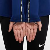 Nike Women's Pro Warm Metallic Funnel Neck Long Sleeve Shirt product image