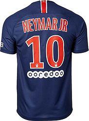 info for 0d94a 6392b Nike Men's Paris Saint-Germain Neymar #10 2018 Breathe Stadium Home Replica  Jersey