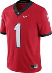 Nike Men's Georgia Bulldogs #1 Red Dri-FIT Limited Football Jersey product image