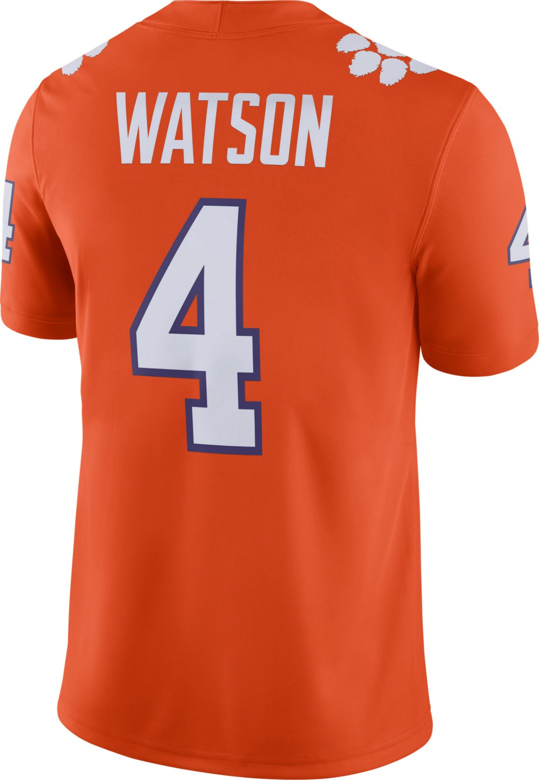 the best attitude 4e5de cbd9d Nike Men's Deshaun Watson Clemson Tigers #4 Orange Dri-FIT Game Football  Jersey