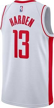 Nike Men's Houston Rockets James Harden #13 White Dri-FIT Swingman Jersey product image
