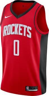 Nike Men's Houston Rockets Russell Westbrook #0 Red Dri-FIT Swingman Jersey product image