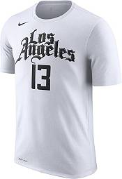 Nike Men's Los Angeles Clippers Paul George #13 City Edition Dri-FIT White T-Shirt product image