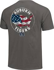 Image One Men's Auburn Tigers Grey Sketch USA T-Shirt product image