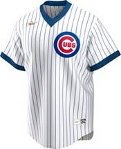 Nike Men's Chicago Cubs Ryne Sandberg #23 White Cooperstown V-Neck Pullover Jersey product image