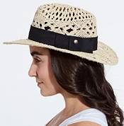CALIA by Carrie Underwood Women's Open Weave Wide Brim Fedora product image