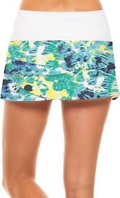Lucky In Love Women's Tie Dye Scallop Tennis Skort product image
