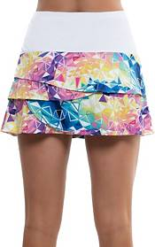Lucky In Love Women's Long Geo Scallop Tennis Skirt product image