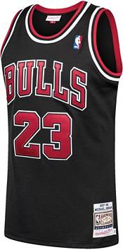 Mitchell & Ness Men's Chicago Bulls Michael Jordan #23 Authentic 1997-98 Black Jersey product image
