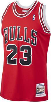 Mitchell & Ness Men's Chicago Bulls Michael Jordan #23 Authentic 1997-98 Red Jersey product image