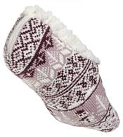 Northeast Outfitters Women's Snowman Cozy Cabin Slipper Socks product image