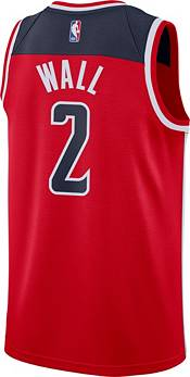 Nike Men's Washington Wizards John Wall #2 Red Dri-FIT Swingman Jersey product image