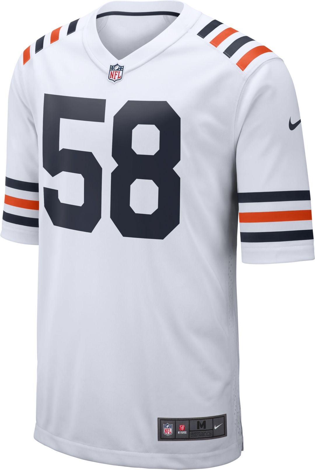cheaper 249e3 b5195 Nike Men's Alternate Game Jersey Chicago Bears Roquan Smith #58