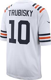 Nike Men's Chicago Bears Mitchell Trubisky #10 White Game Jersey product image