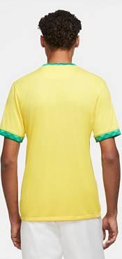 Nike Men's Brazil '20-'21 Breathe Stadium Home Replica Jersey product image