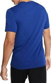 Nike Men's FC Barcelona '19 Crest Blue T-Shirt product image