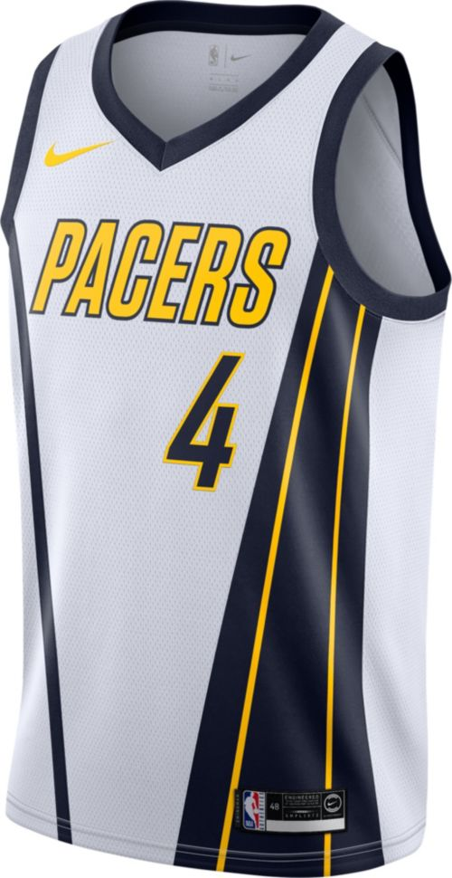 822f6e94b Nike Men s Indiana Pacers Victor Oladipo Dri-FIT Earned Edition Swingman  Jersey