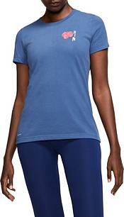 "Nike Women's ""RASPBERRY CLUB"" Dri-FIT Cotton Softball T-Shirt product image"