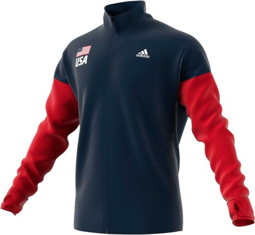 0ef4bc0d29c5 adidas Men's USA Volleyball Full-Zip Warmup Jacket | DICK'S Sporting ...