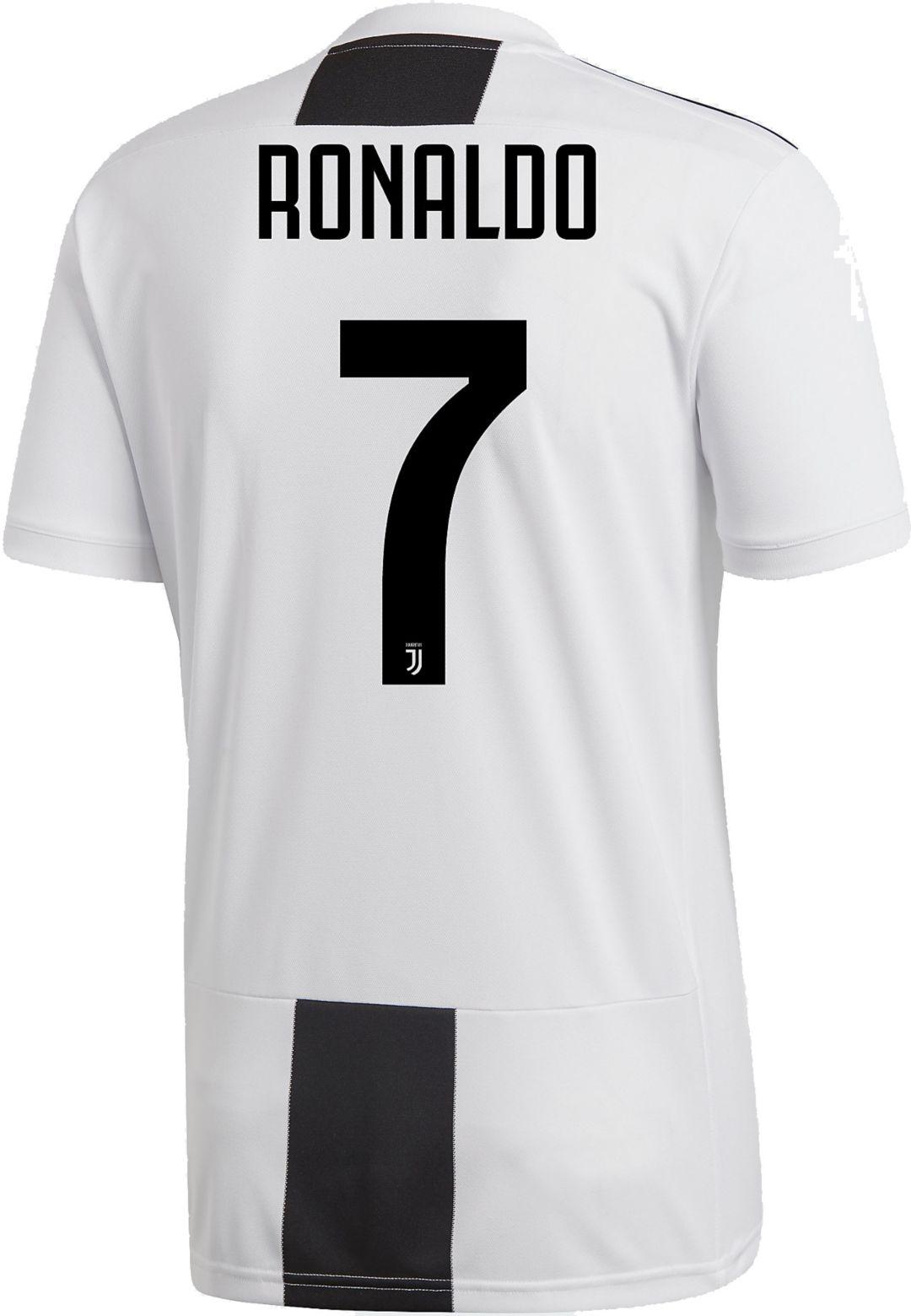 newest 40a05 052fe adidas Men's Juventus Cristiano Ronaldo #7 Stadium Home Replica Jersey